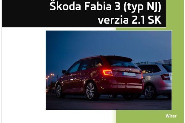 VCDS kódovanie Fabia III 2016 v2.1