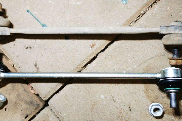 Revízia prednej nápravy – tyčky stabilizátora